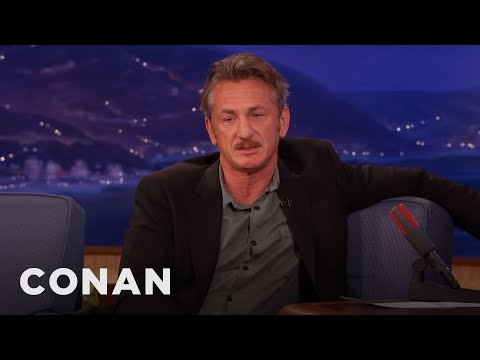 Sean Penn On Dick Cheney & Cuba  - CONAN on TBS