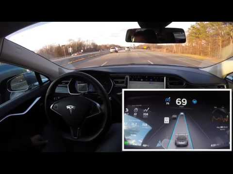 Tesla AutoPilot: 45 Minute Commute Made EASY!!