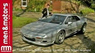 Lotus Espirit - British Supercar Test Drive - With Richard Hammond