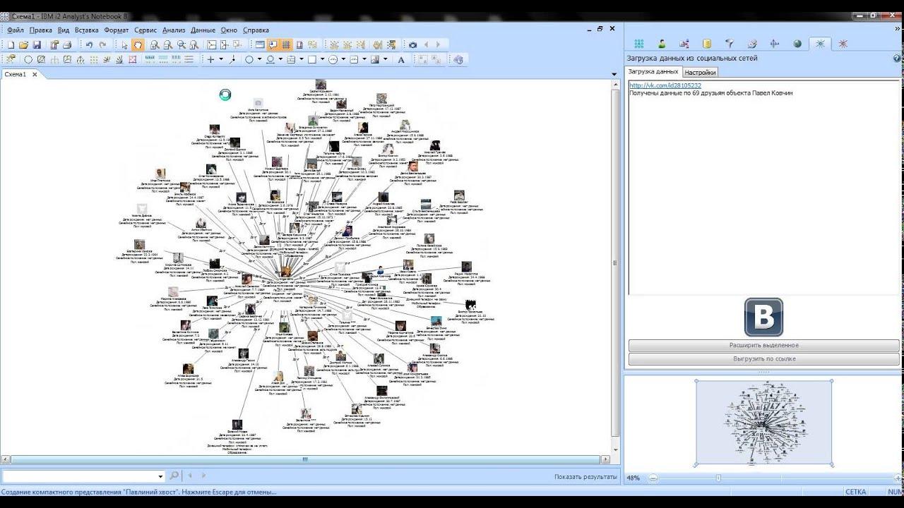 IBM i2 Analyst's Notebook Social Network Analyze - YouTube
