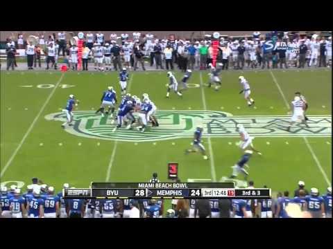 Paxton Lynch Memphis vs BYU 2014