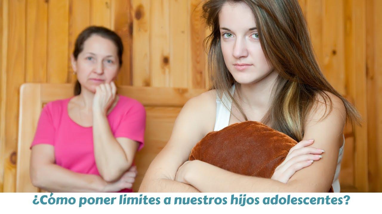 ¿Cómo poner limites a nuestros hijos adolescentes?