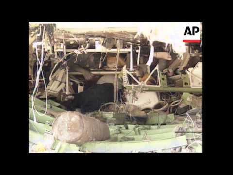 COMOROS ISLANDS: SALVAGE OPERATION BEGINS ON CRASHED AIRLINER