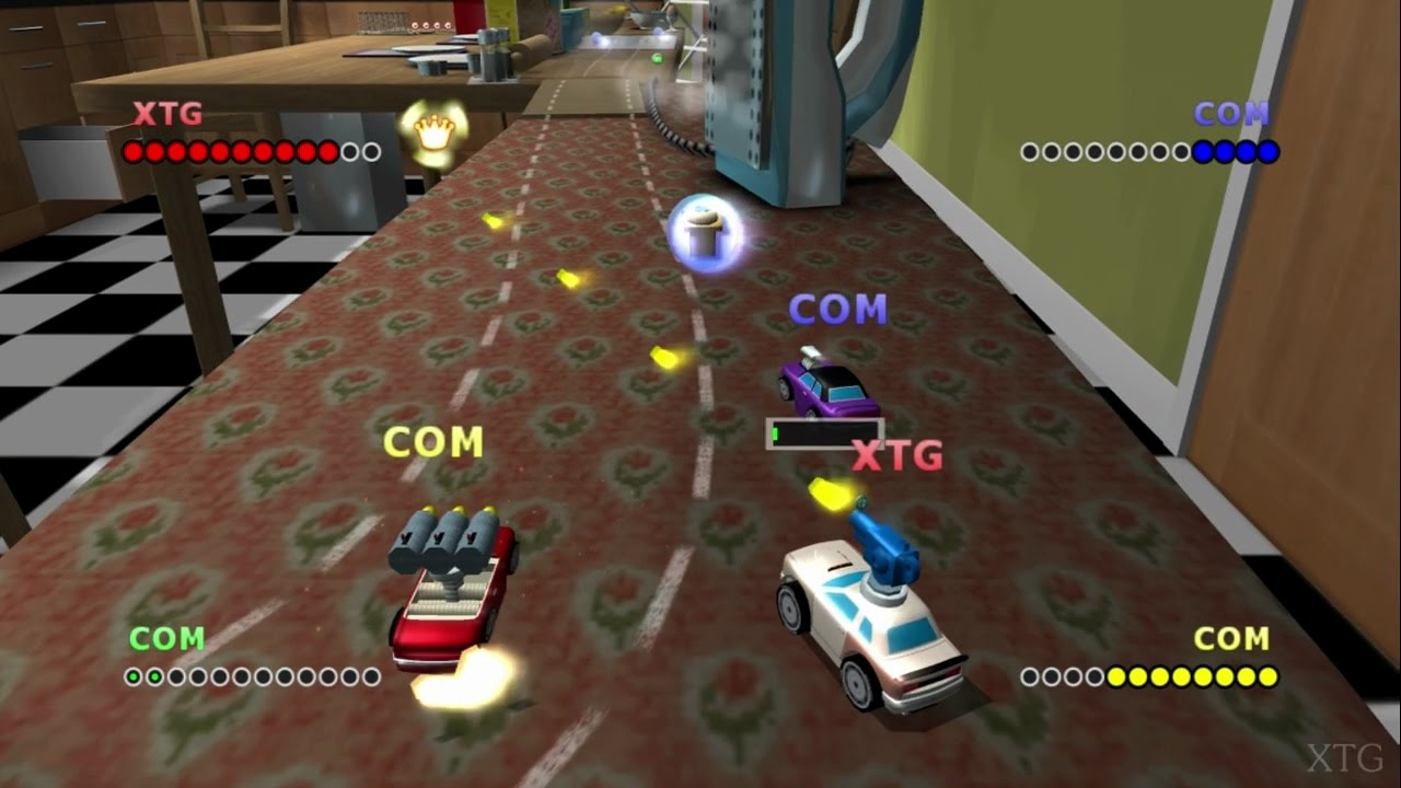 micro machines v4 ps2 gameplay hd pcsx2 youtube. Black Bedroom Furniture Sets. Home Design Ideas