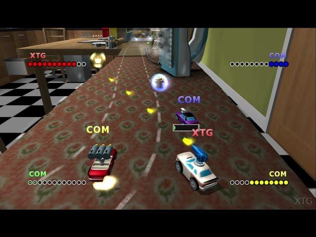 Micro Machines V4 PS2 Gameplay HD (PCSX2)