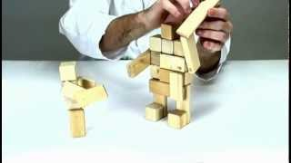 Games With Blocks From Tegu - Odysseus Vs. The Cyclops