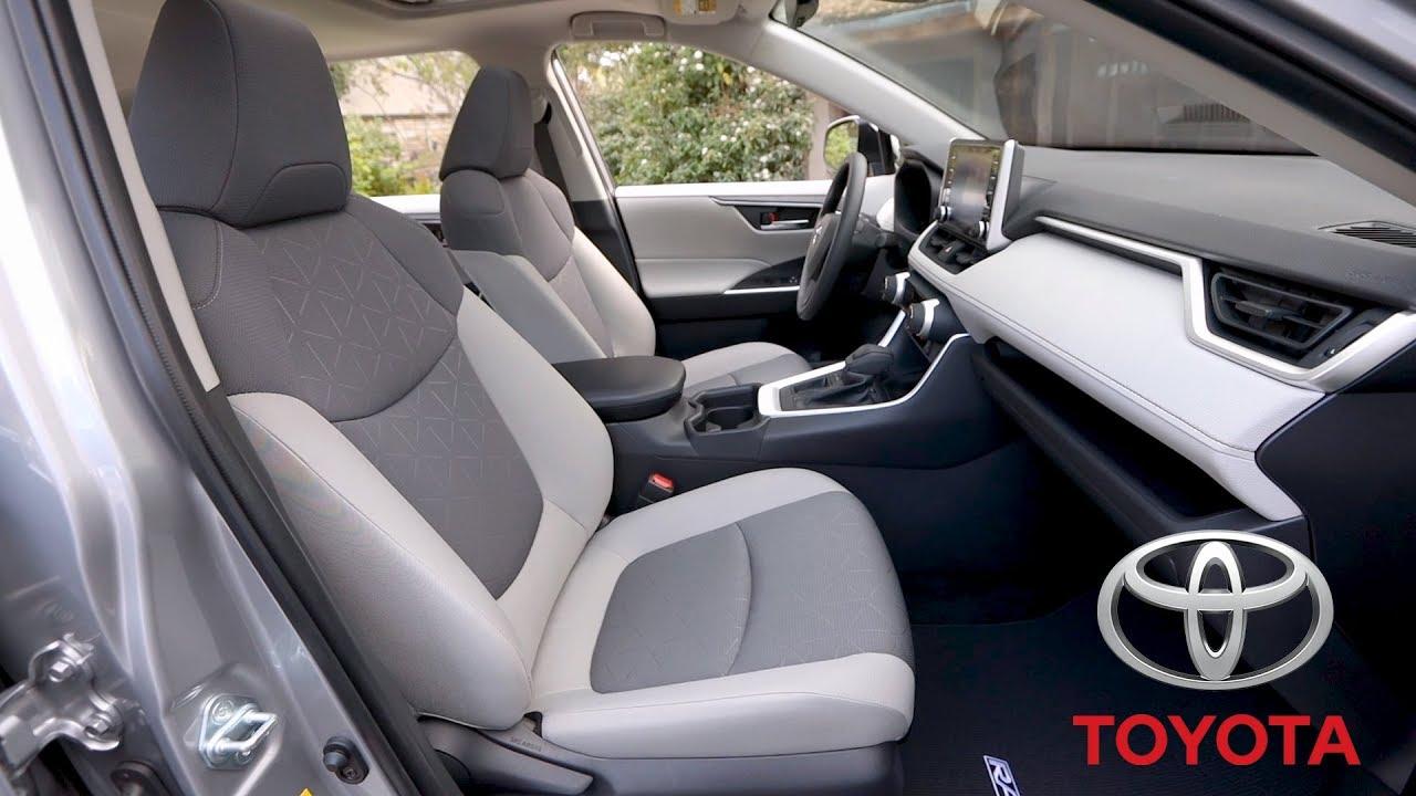 2019 Toyota Rav4 Xle Fwd Interior Youtube