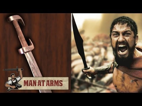 King Leonidas' Sword (300) - MAN AT ARMS