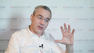 What do current multiple myeloma clinical trials have in common?
