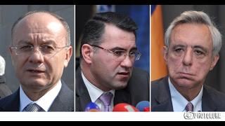 LIVE  Սեյրան Օհանյանի, Արմեն Մարտիրոսյանի և Վարդան Օսկանյանի մամուլի ասուլիսը
