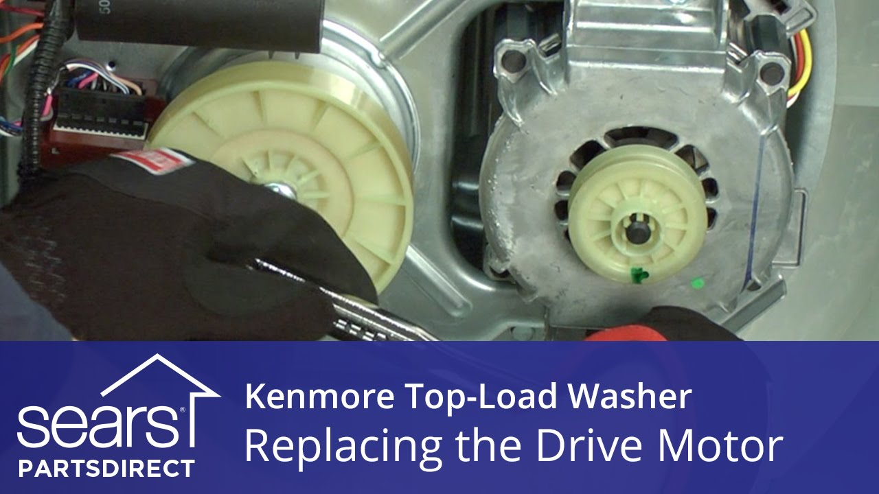 How To Replace The Drive Motor On A Kenmore Vertical