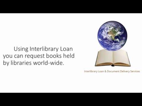 Why Do I Use Interlibrary Loan?