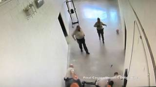 Damn: Two Inmates At Arizona Detention Center Viciously Attack Corrections Officer Until A