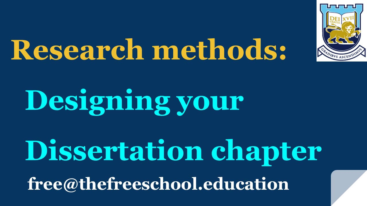 research methodology for masters dissertation