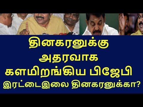 bjp mp subramanian swamy lobby double leaves |tamilnadu political news|live news tamil