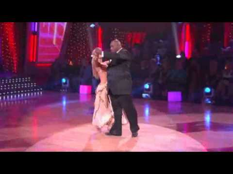 Warren Sapp and Kym Johnson on Dancing With The Stars