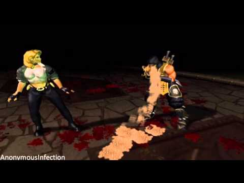 Mortal Kombat: Deadly Alliance - Sonya Blade's Fatality
