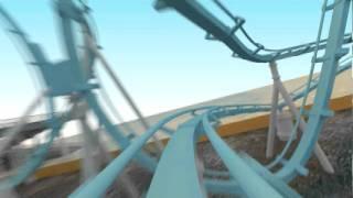 Rollercoaster Flythrough 2