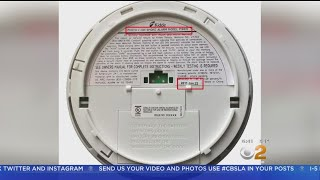 Recall Issued For Nearly Half A Million Smoke Detectors