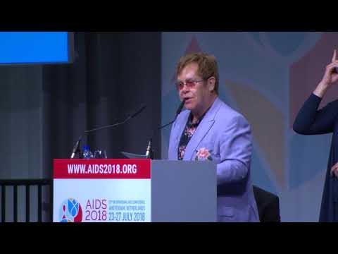 Prince Harry and Sir Elton John attend AIDS 2018