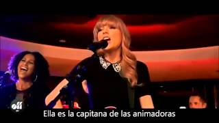 Taylor Swift - You belong with me LIVE subtitulado en español
