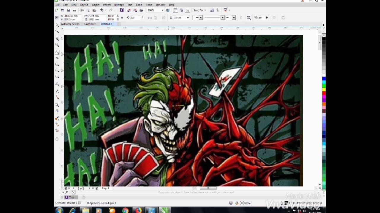 480+ Gambar Cutting Sticker Joker Gratis