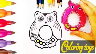 Learn Colors, HOW to DRAW, and Coloring book for KIDS   Painting and drawing for kids,