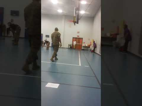Marines jrotc visits mata intermediate school
