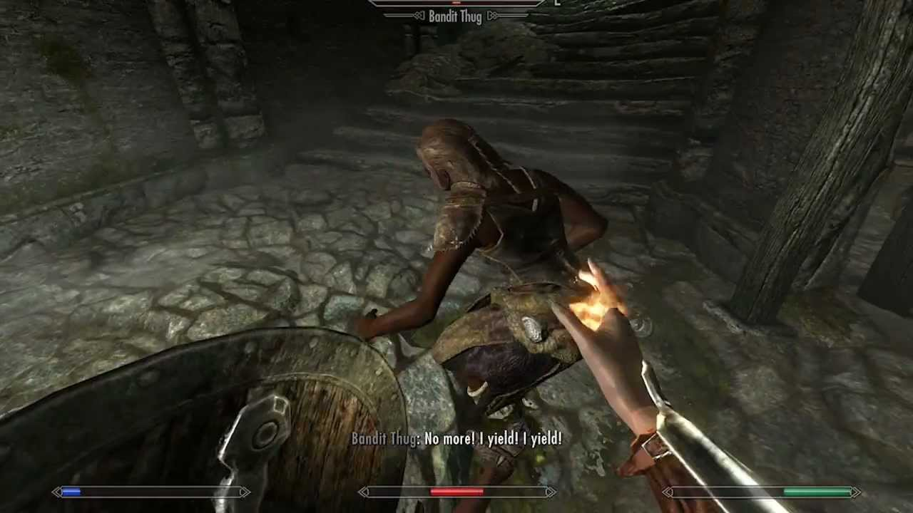 skyrim how to get stronger mage spells