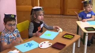 Открытое занятие в детском саду №5 г. Краснокамск (Рисование ладошками и пальчиками)