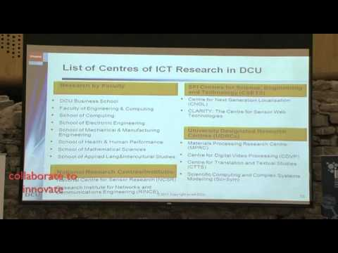 CITA EIN November 9th 2011, Richard Stokes & Paddy O'Boyle of DCU Invents, 'Collaborate to Innovate'