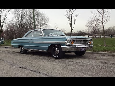 1964 Ford Galaxie 500XL 2 Door in Dynasty Green & Engine Sound on My Car Story with Lou Costabile