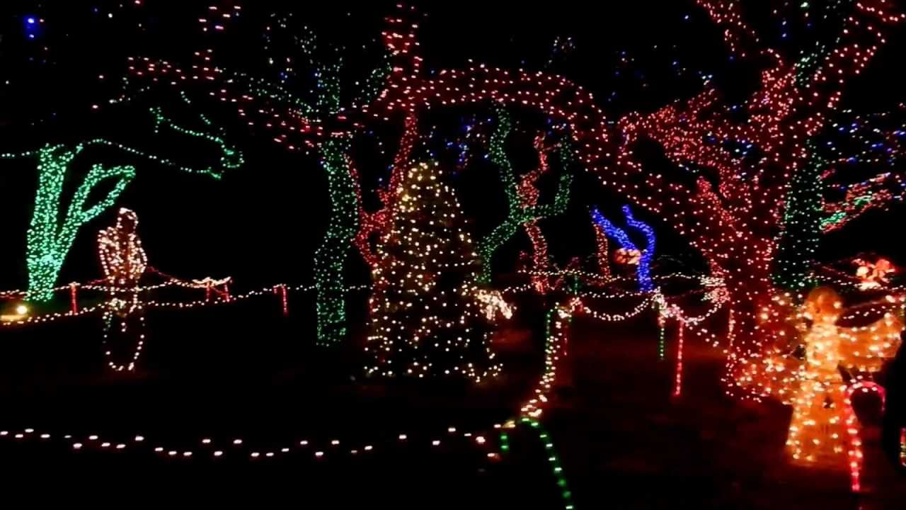 hill country christmas lights johnson city texas 2012 youtube