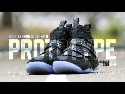d3079504083 Nike Lebron Soldier 11 Prototype - YouTube