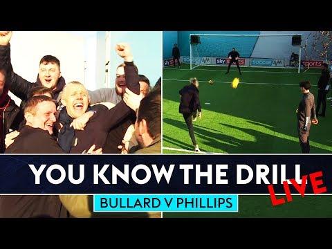 BULLARD HITS TOP BINS! 🔥   Jimmy Bullard vs Kevin Phillips   You Know The Drill Live!
