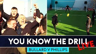BULLARD HITS TOP BINS! 🔥 | Jimmy Bullard vs Kevin Phillips | You Know The Drill Live!