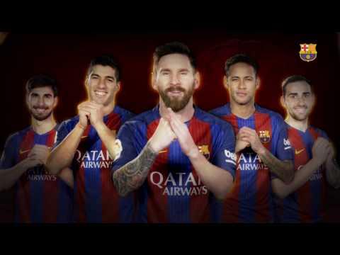 No te pierdas el final: el divertido saludo chino de Messi y compañía