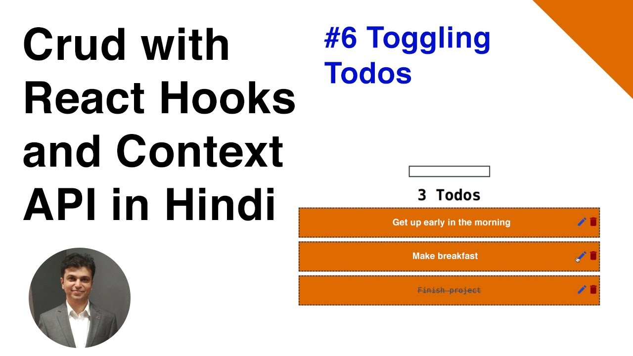 lecture 6 Toggling todos