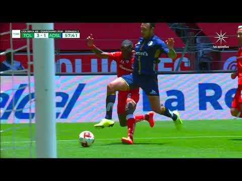 Toluca 3 - [2] Atletico San Luis (N. Ibanez 59') | Penalty