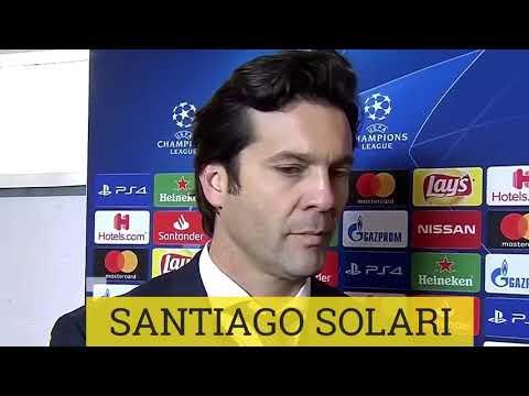 DECLARACIONES Santiago Solari post partido Roma(0) vs Real Madrid(2) CHAMPIONS LEAGUE 2018