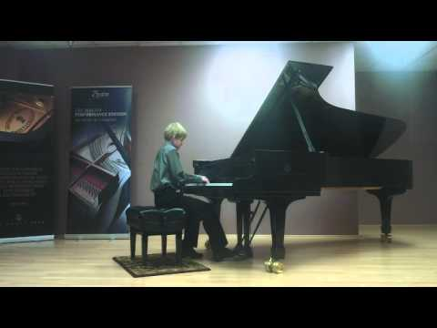 Scott performs Sonatina in Colors - Red - by K. Olson