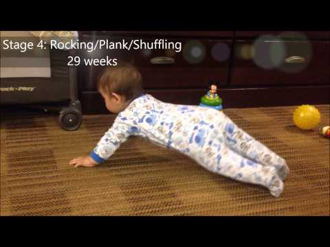 Baby Development: Stages of Crawling