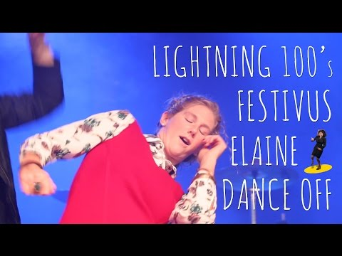 Lightning 100's Festivus Elaine Dance Off 2016