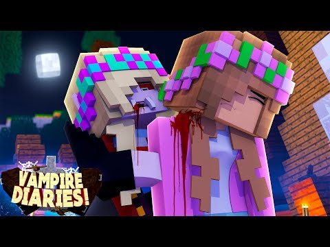 Minecraft VAMPIRE DIARIES- VAMPIRE LEAH INFECTS LITTLE KELLY!!!w/ LITTLE DONNY
