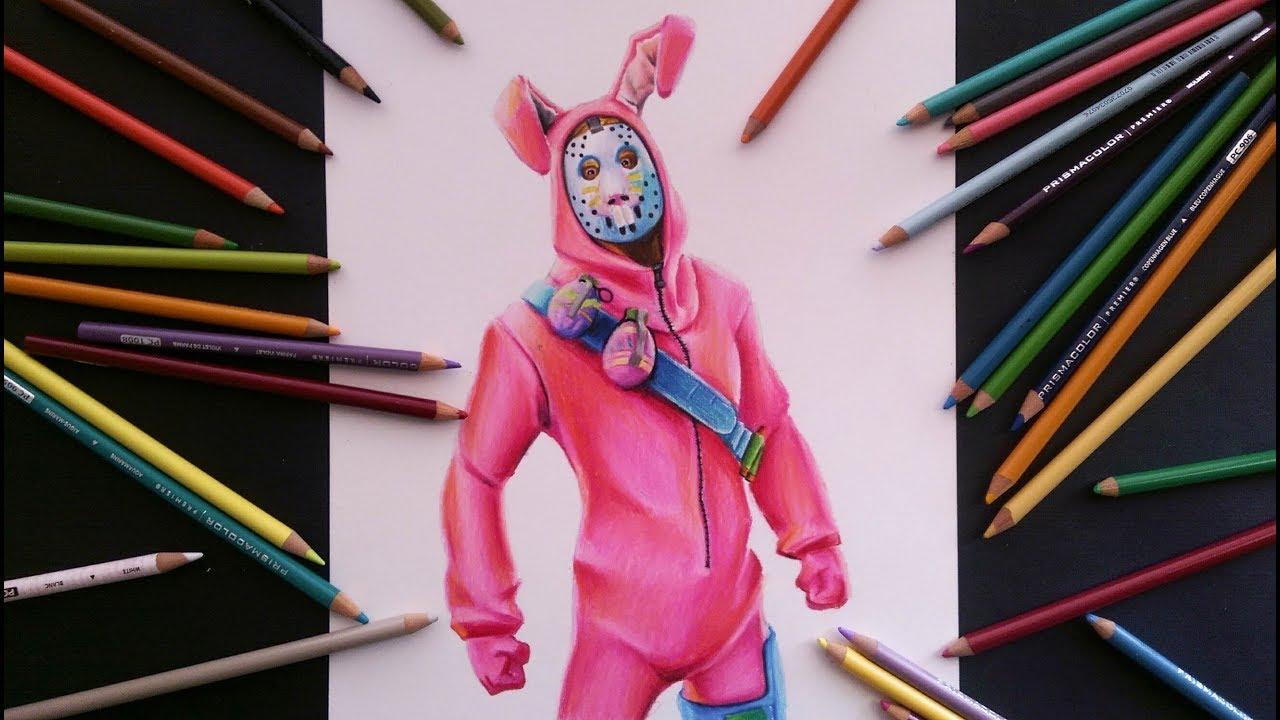 Dibujo Fortnite Skin Conejo De Pascua Mundo Dibujos
