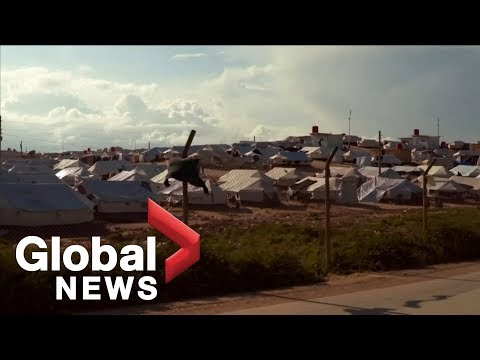 Global News visits ISIS detention camp in Syria