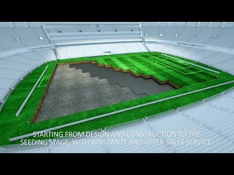 Техническая визуализация для GRASSMAX. 3д анимация технологического процесса строительства.