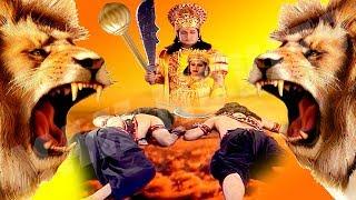 आज देखिये भगवान विष्णु का संकट से भरा एक महान युद्ध...... Jai Ho Bhagvan Vishnu Ki