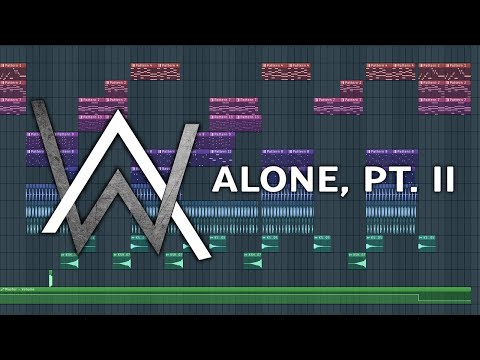 alan-walker-&-ava-max---alone,-(pt.-ii)-|-v1-|-fl-studio-remake