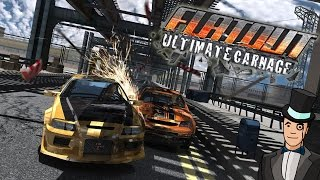 FlatOut Ultimate Carnage Gameplay - FROM THE MAKERS OF WRECKFEST